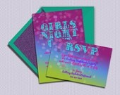 Girl Party, a printable Bachelorette Party or Bridal Shower Invitation and RSVP