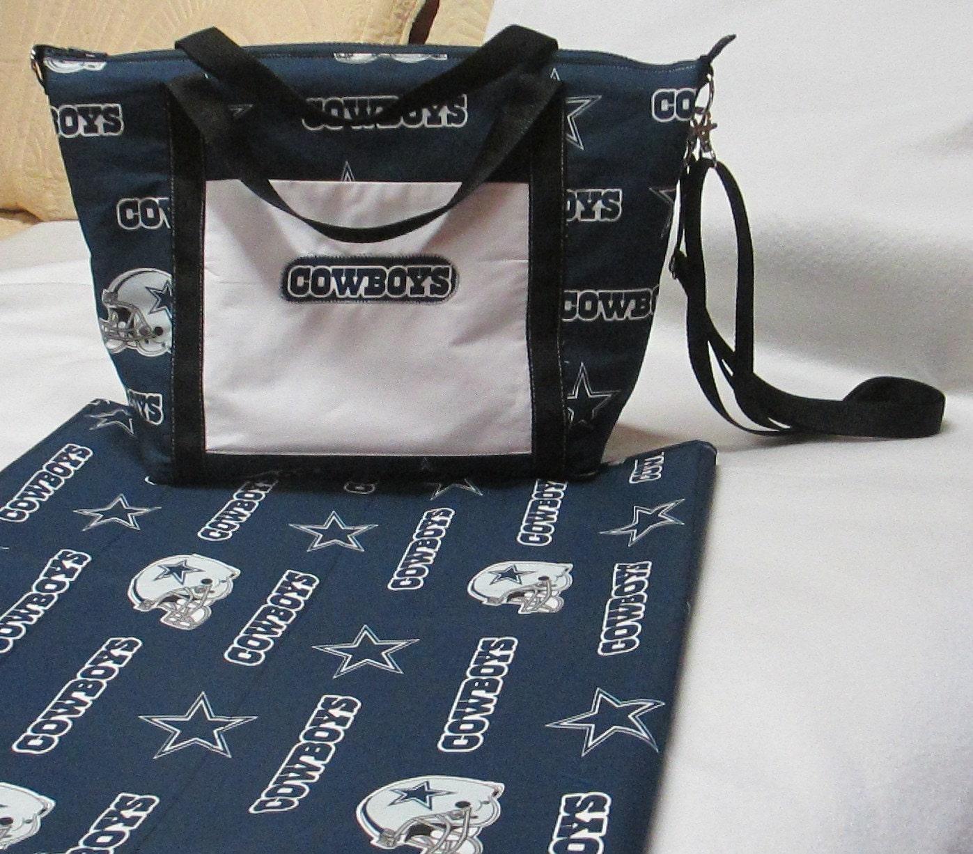Cowboy Diaper Bags : Clearance priced handmade dallas cowboys diaper bag and