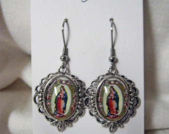 Our Lady of Guadalupe earrings - AP06-500