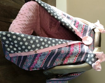 Carseat canopy FREE shipping today / car seat cover / nursing cover / carseat canopy / carseat cover