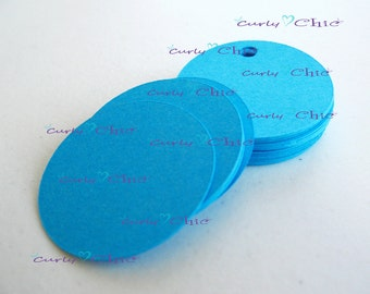 "25 Circle Tag Size 2"" -Circles die cuts -Cardstock Circles tags -Circles labels -Paper die cuts -Paper Labels"