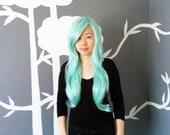 Spearmint - Mint Superlong Wig - FREE SHIPPING