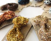 SALE Glitter Hair Bow - Demure Classics Collection