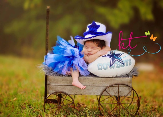 Baby cowboy hat and boots plus diaper cover by