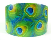 Peacock Duct Tape in Blue, Green, and Gold
