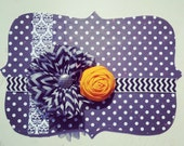 Newborn...Halloween....fall...baby headband