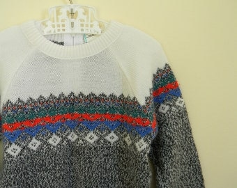 Vintage Boy's Lightweight Sweater - Size 3T