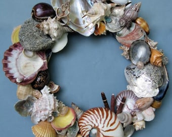 SALE Colorful Shell Wreath-SW50