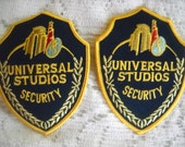 Universal Studios Security Uniform Badges, Costume, Time Raveler