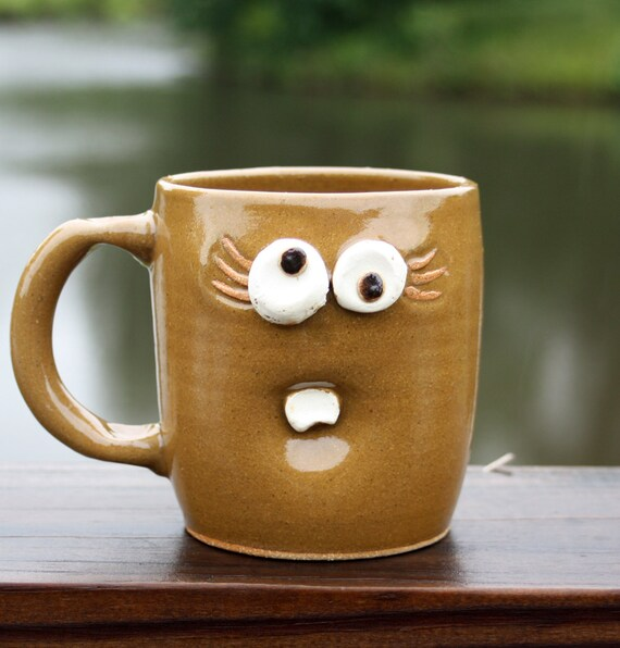 Warm Honey Caramel Drizzle Coffee Mug  for Her. Coffee Cups for Women. Fun Christmas Gifts Under 25