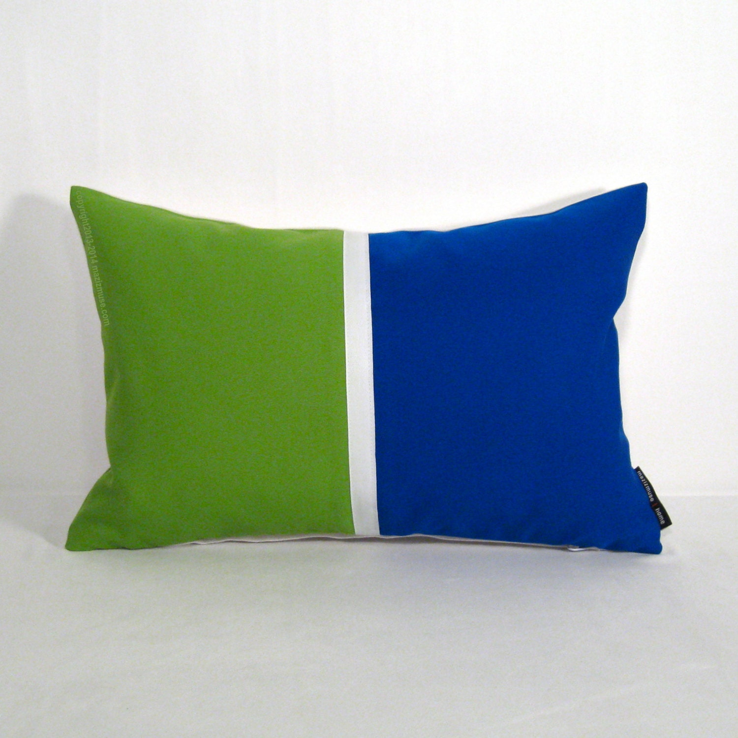 Color Block Pillow Cover Modern Outdoor Pillows by Mazizmuse
