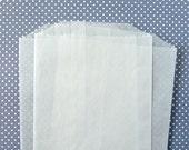 "50 Glassine Bags - 6.75 x 4.5"" - Party Favor Bag / Goody Bag"