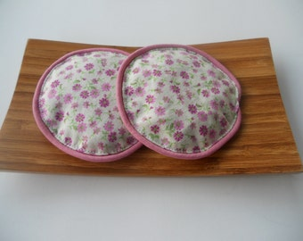Pink and Purple Dainty Flowers Eye Pillows/Floral Lavender Eye Pillows