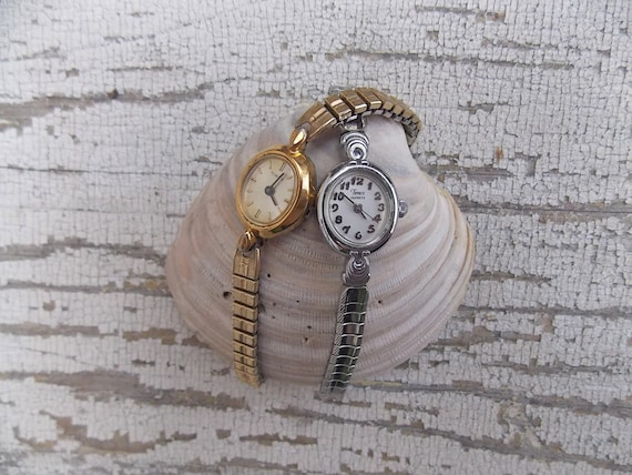 Vintage Ladies Watches Timex Non Working