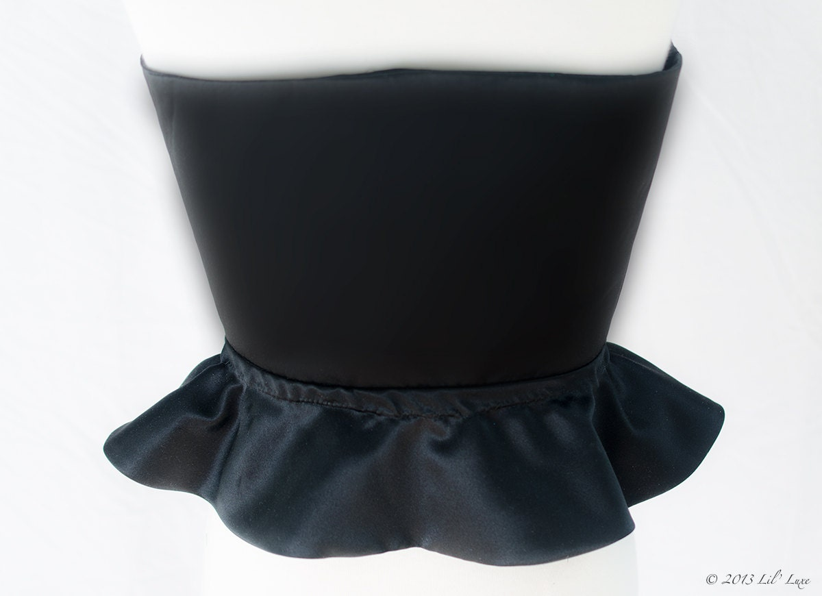 Wicked Witch Of The West Costume Belt Or Mock Corset For Girls