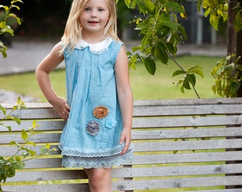Mila DreSs Hand Dyed One of A kinD ShaBby ChiC