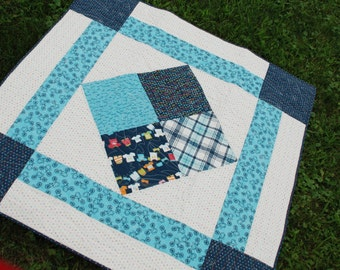 Four Square Fun Toddler Quilt Pattern PDF