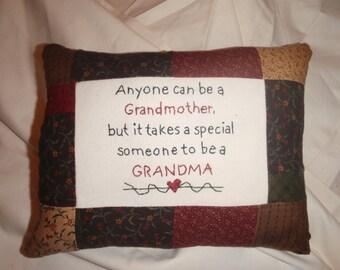 Someone special Grandma Pillow