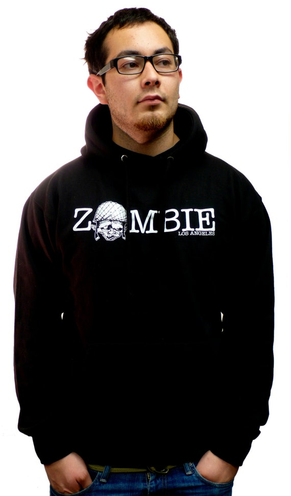 Classic Zombie Los Angeles Pullover Hoodie