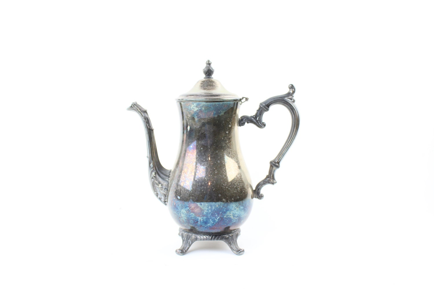 Silver Plated Teapot Wm Rogers 800