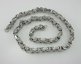 26 inch. Stainless Steel Chain Chunky Chain Link Necklace Craft DIY Decorations Findings. STL 26 Sun