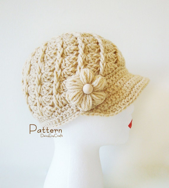 Crochet Hat Patterns Step By Step : Items similar to Symbol Crochet PATTERN and Colorful step ...