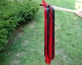 50  Red and Black Wedding Wands