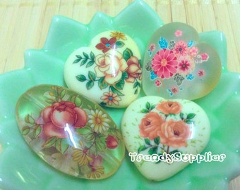 Old Stock Sale - 4pcs, Japanese Tensha Bead Set J