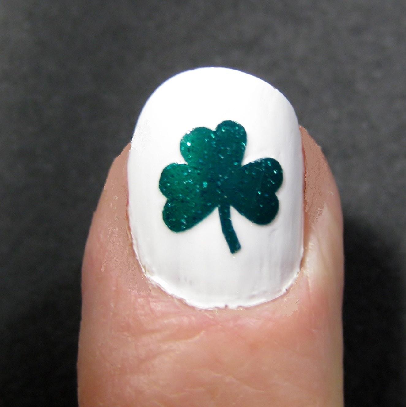 Nail Art Ideas shamrock nail art tutorial : Shamrock Water Marble Nail Art Tutorial YouTube. 25 Amazing Saint ...
