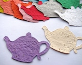 25 Seed Paper Teapots