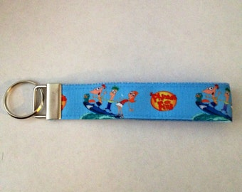 Key Fob - Phineas and Ferb