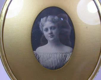 Antique Framed Portrait