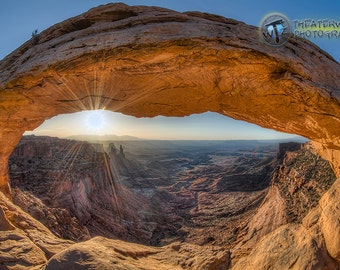 Gimme More Mesa- Fine Art  Photographic Print of Mesa Arch, Canyonlands National Park