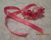 Ballerina - Flower Girl - Bridal - Prom - Versatile Hair accessory - wrist corsage - ankle bracelet