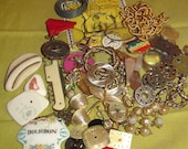 Magical mixed vintage lot of oddities and doodads for your creations, over 60 pieces