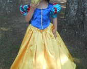 WeHaveCostumes Quality Homemade Princess Halloween Costume -Snow White- Child Sizes up to 14