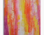 SALE...Original Large colorful PAINTING