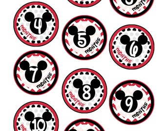 Popular Items For Mickey Stickers On Etsy