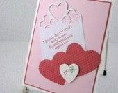Valentines Day Card Handmade Valentine of Love
