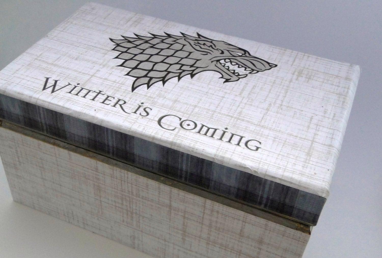 game of thrones keepsake trinket box house by thetrendysparrow