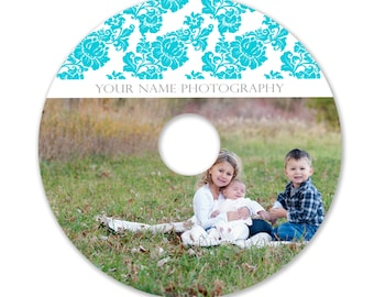 INSTANT DOWNLOAD -  Cd/DVD Label Photoshop template - 0839