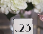 Art Deco: Table Number Cards (13-24)