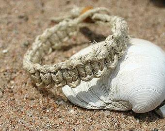 Sale Surfer Phatty Thick Hemp Bracelet Or Anklet Flat Surf