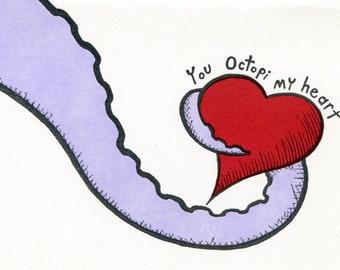 You Octopi My Heart