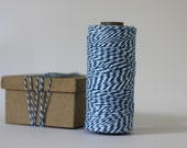 Blue and White Bakers Twine - 10 metres - Perfect for Gift Wrapping or Crafts