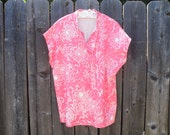 75% of this item, enter LOVE2016 at checkout.  V i n t a g e Print Blouse, Vintage Clothing, Clothing, Blouse, Womans Top