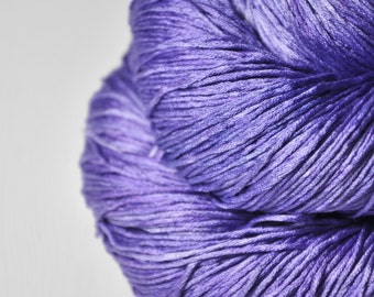 Withering bluebell  - Silk Fingering Yarn