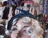 1950s Glenover-Henry Pollack two-tone Blue Hat