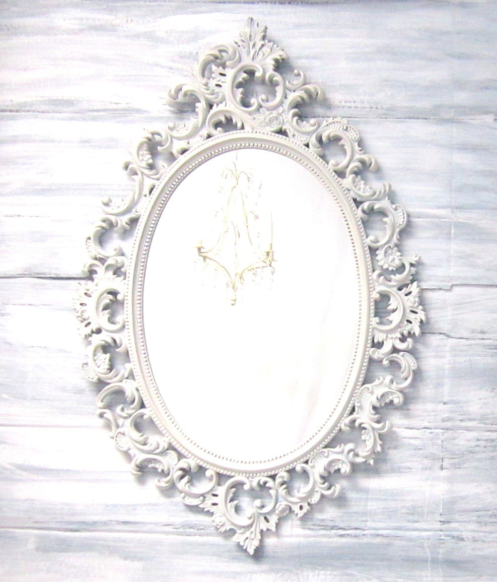 Decorative Vintage Mirrors For Sale French Country Oval Shabby