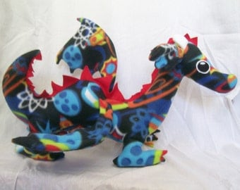Customizable Dragon Plush - choose your own colors and patterns